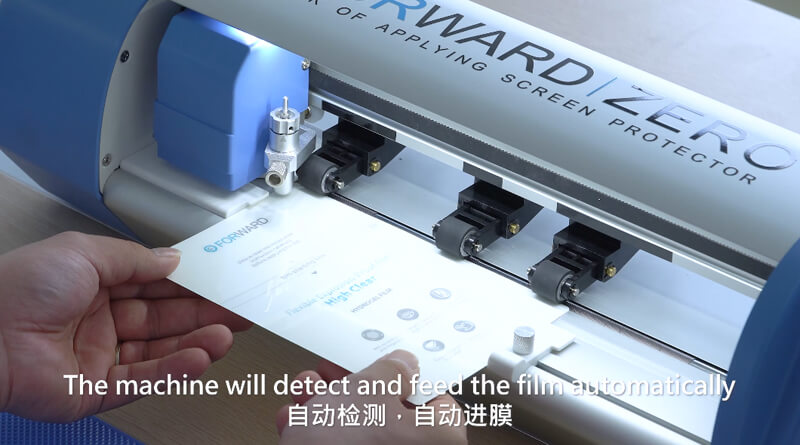 How To Use Universal Screen Film Cutter Of High end Version 9
