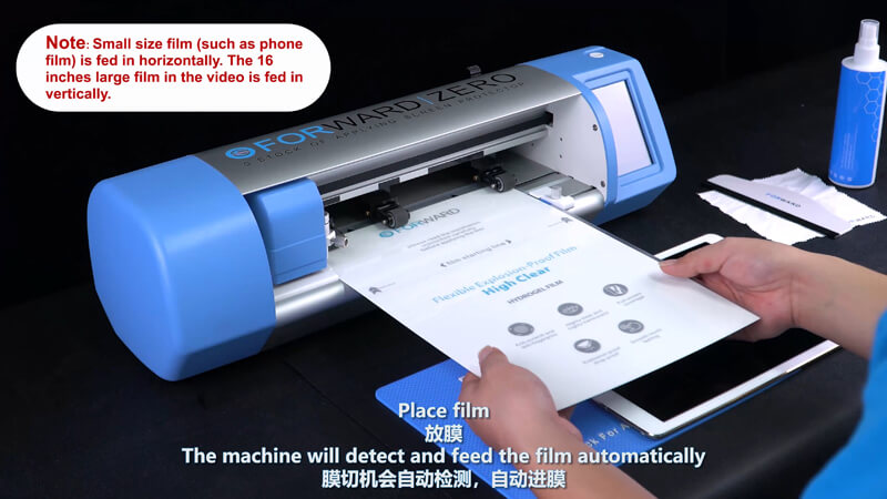 Use Screen Protector Plotter To Cut 12.9 Inches Films - 4