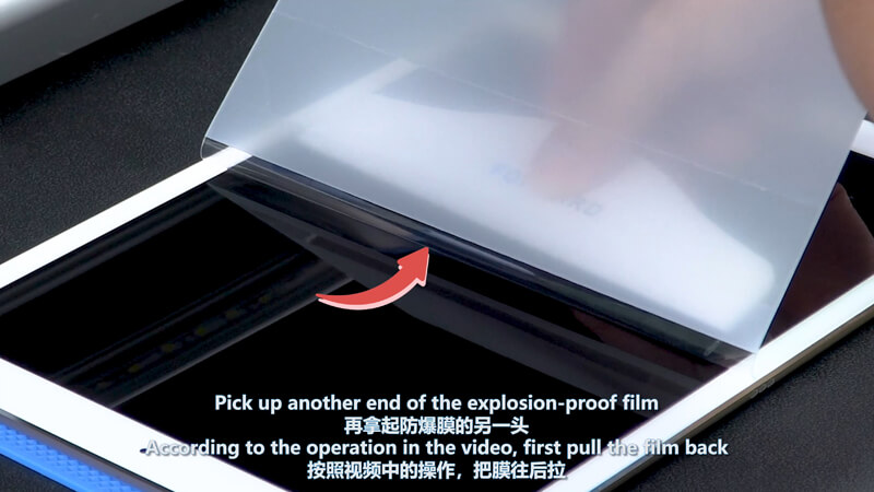 Use Screen Protector Plotter To Cut 12.9 Inches Films - 13