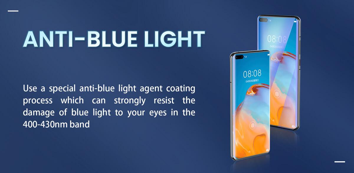 Anti blue light screen protector