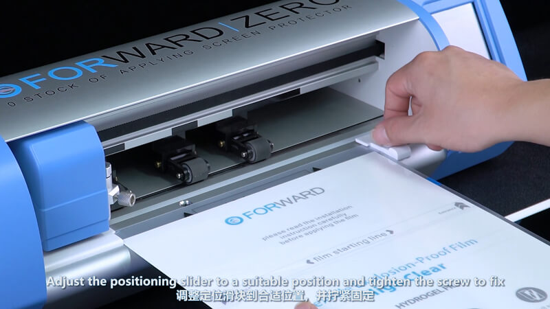 Use Screen Protector Plotter To Cut 12.9 Inches Films - 2