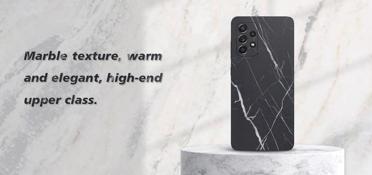 Advantages of Marble Series Back Film 1