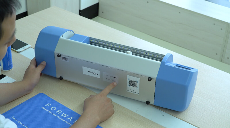How To Use Universal Screen Film Cutter Of High end Version 5