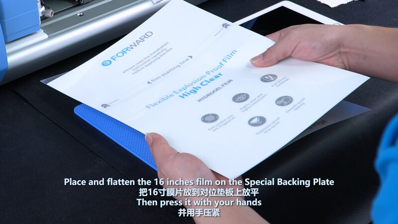 Use Screen Protector Plotter To Cut 12.9 Inches Films - 1
