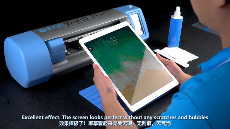 Use Screen Protector Plotter To Cut 12.9 Inches Films - 16