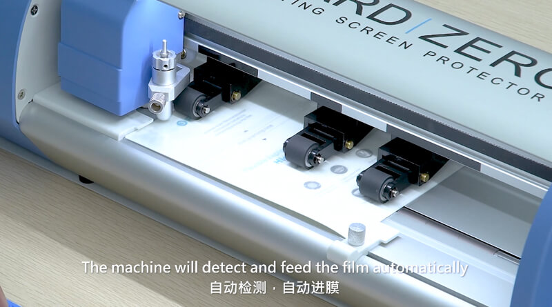 How To Use Universal Screen Film Cutter Of High end Version 26
