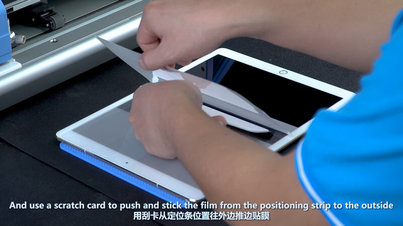 Use Screen Protector Plotter To Cut 12.9 Inches Films - 12