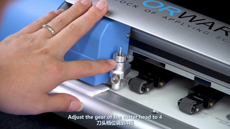 Use Screen Protector Plotter To Cut 12.9 Inches Films - 5