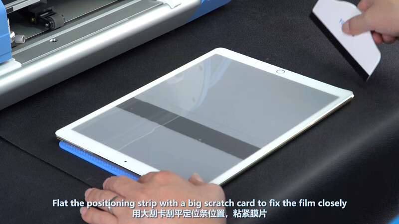 Use Screen Protector Plotter To Cut 12.9 Inches Films - 11