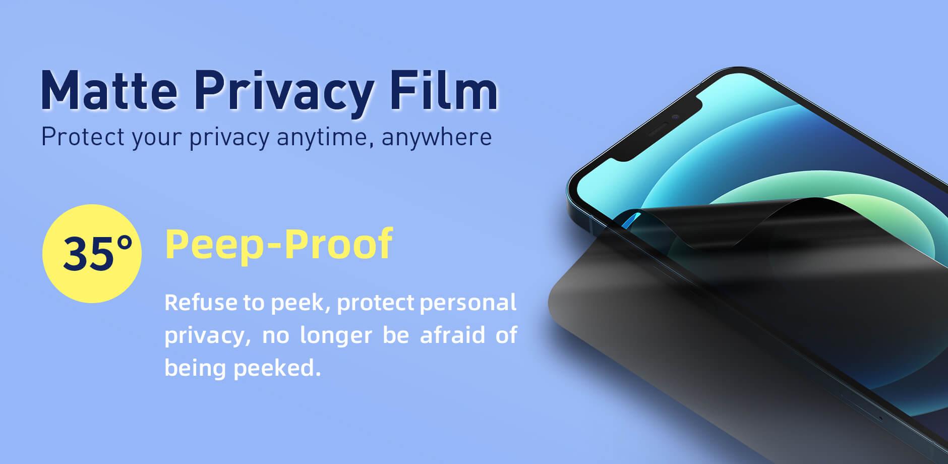 Advantages of Flexible Matte Privacy Film 1
