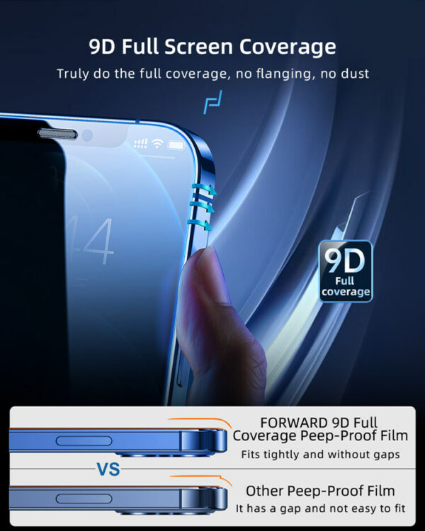 Flexible Matte Privacy Film - 3
