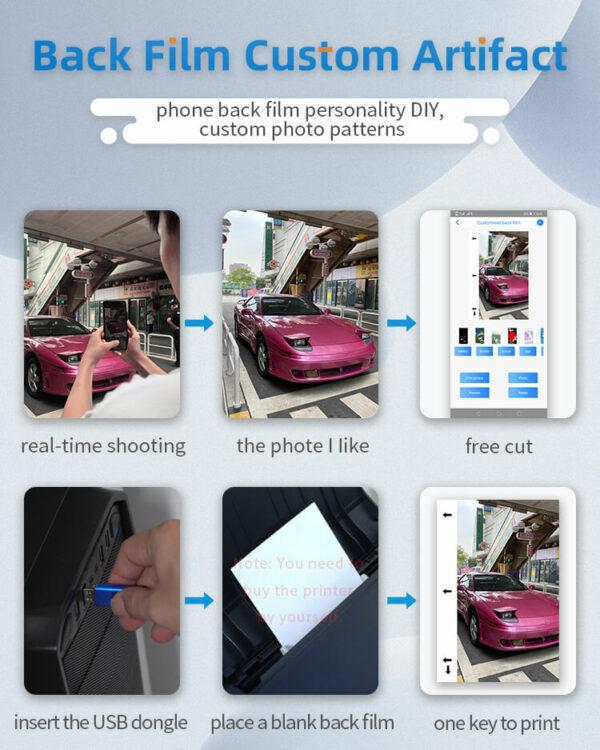 Back Film Custom Artifact - USB Dongle & Blank Back Films 4