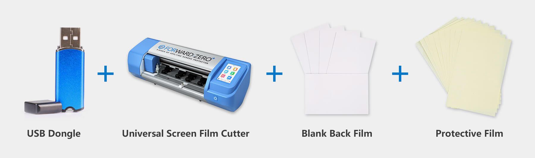 Package   Back Film Custom Artifact - USB Dongle & Blank Back Films