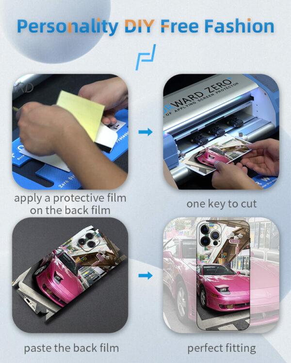 Back Film Custom Artifact - USB Dongle & Blank Back Films 3