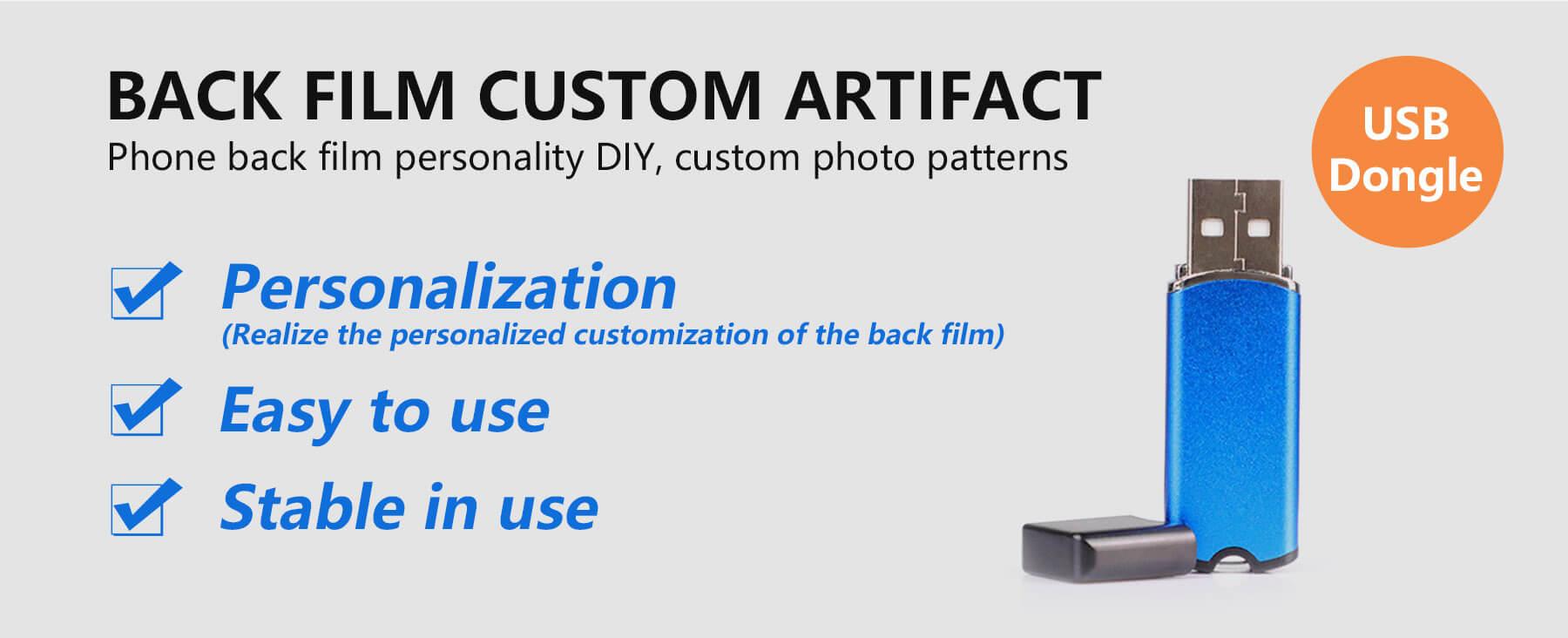 Banner   Back Film Custom Artifact - USB Dongle & Blank Back Films